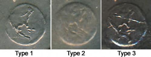1972 Eisenhower Dollar Varieties | Type 1, Type 2, Type 3