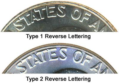 D 2 Coin Set Type 1 Eisenhower Dollars Uncirculated 1976 P